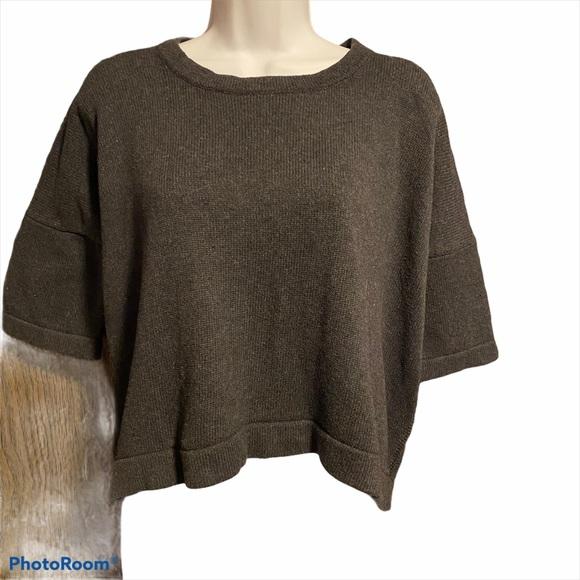 Lululemon Grey Cropped Sweater